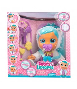 Cry Babies IMC Toys Dressy Kristal gets sick & Feels better 83370