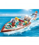 Playmobil Motoscafo con sci d'acqua Limited Edition 9428