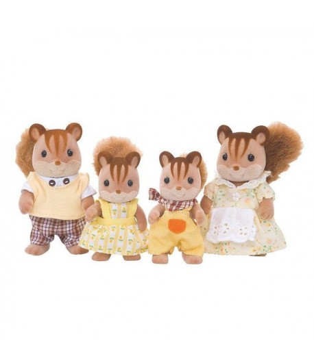 Sylvanian Families Famiglia scoiattoli chiari 4172