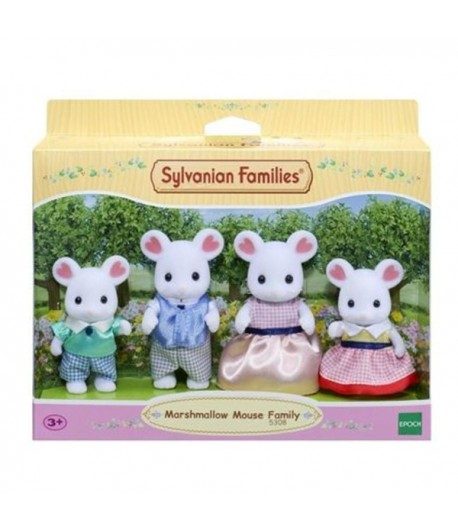 Sylvanian Families Marshmallow famiglia topolini bianchi 5308